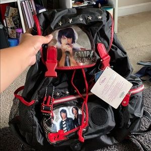 Camp rock backpack